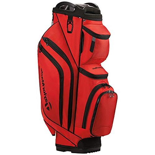 supreme cart golf bag red
