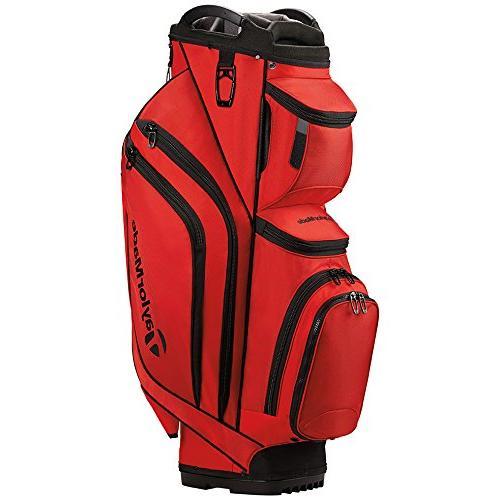 supreme cart golf bag red