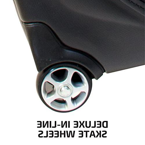 Bag Boy Unisex Travel Cover Black/Red