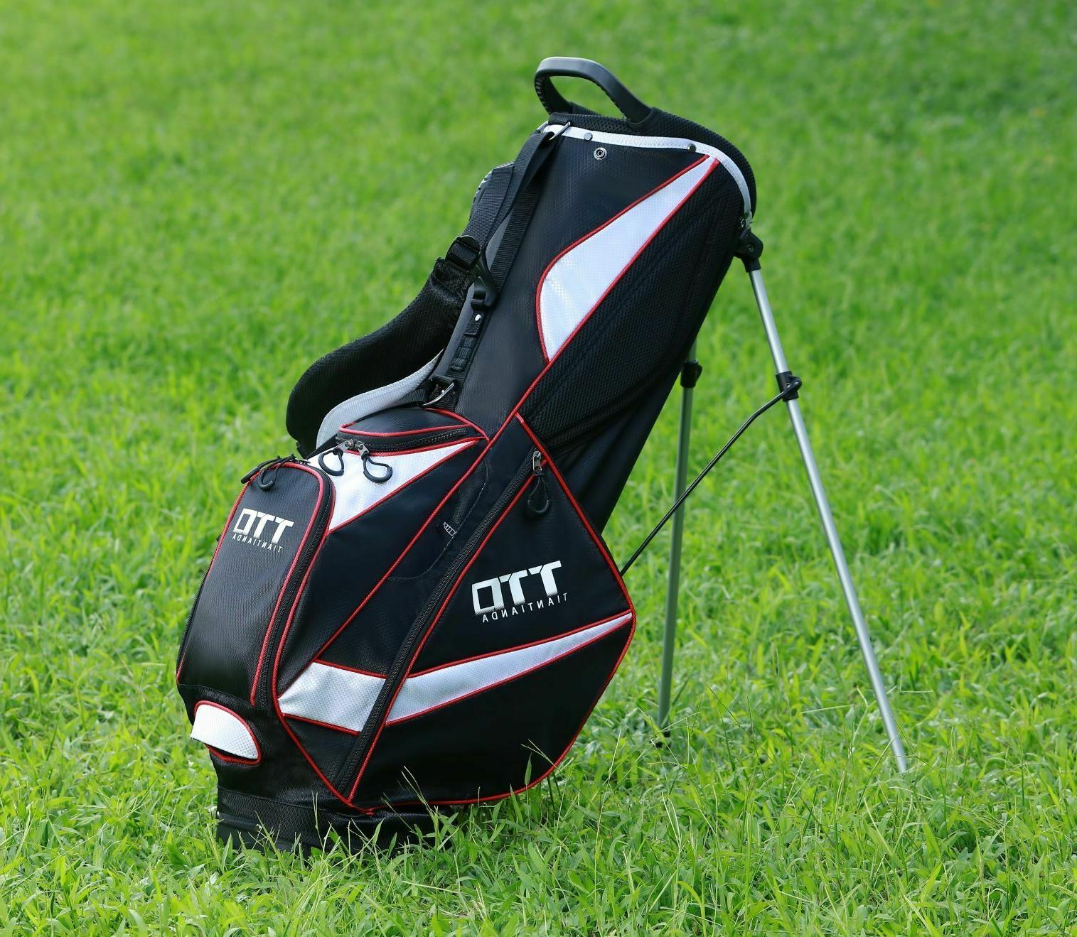 td super light golf stand bag