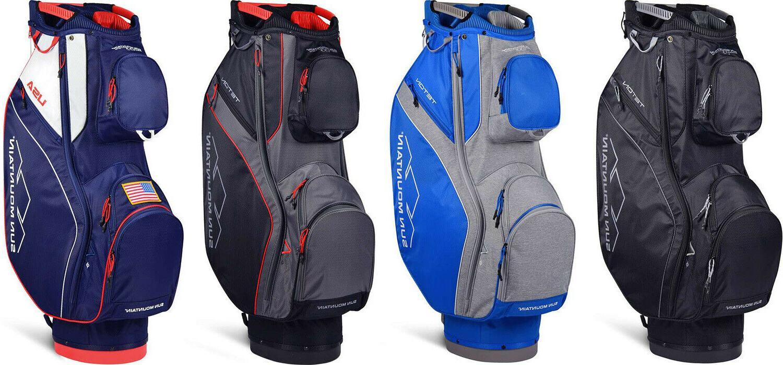 teton men s golf cart bag new