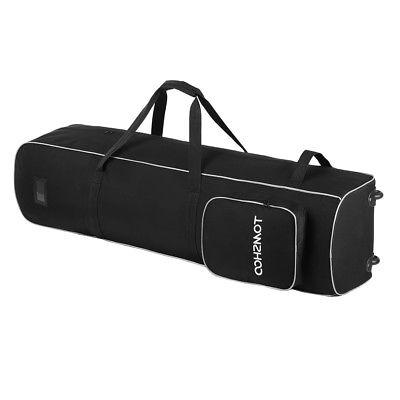 TOMSHOO Golf Smooth Rolling Travel Case Wheels K6N6