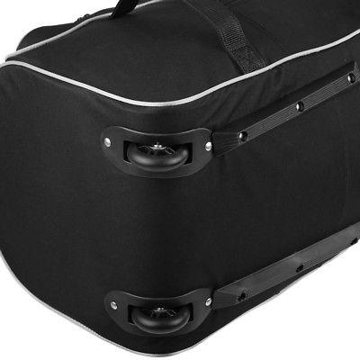 TOMSHOO Golf Rolling Travel Case K6N6