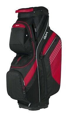 Ping Traverse Golf Cart Bag Black/Red
