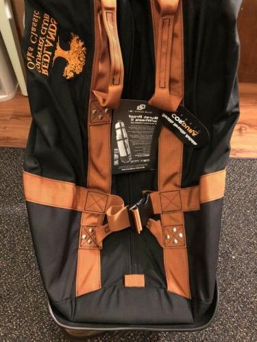 Club Glove USA Black BURST PROOF with Wheels 2 Golf Travel B