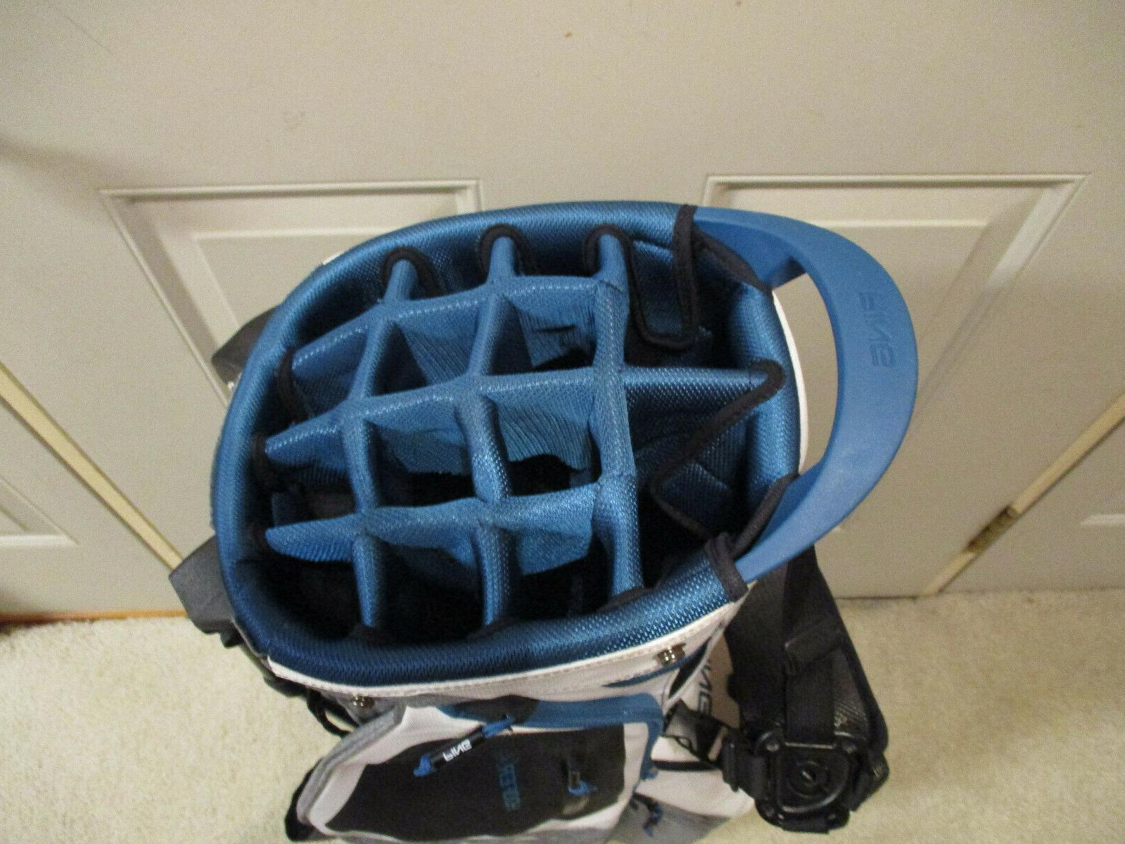 Used Hoofer Stand Bag White Heather /