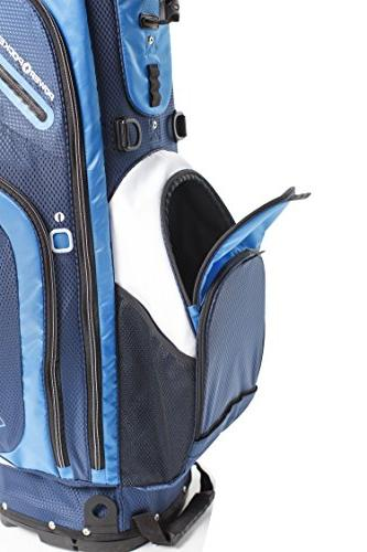 IZZO Bag Golf Riding Golf Bag, Golf Grey Golf Stand