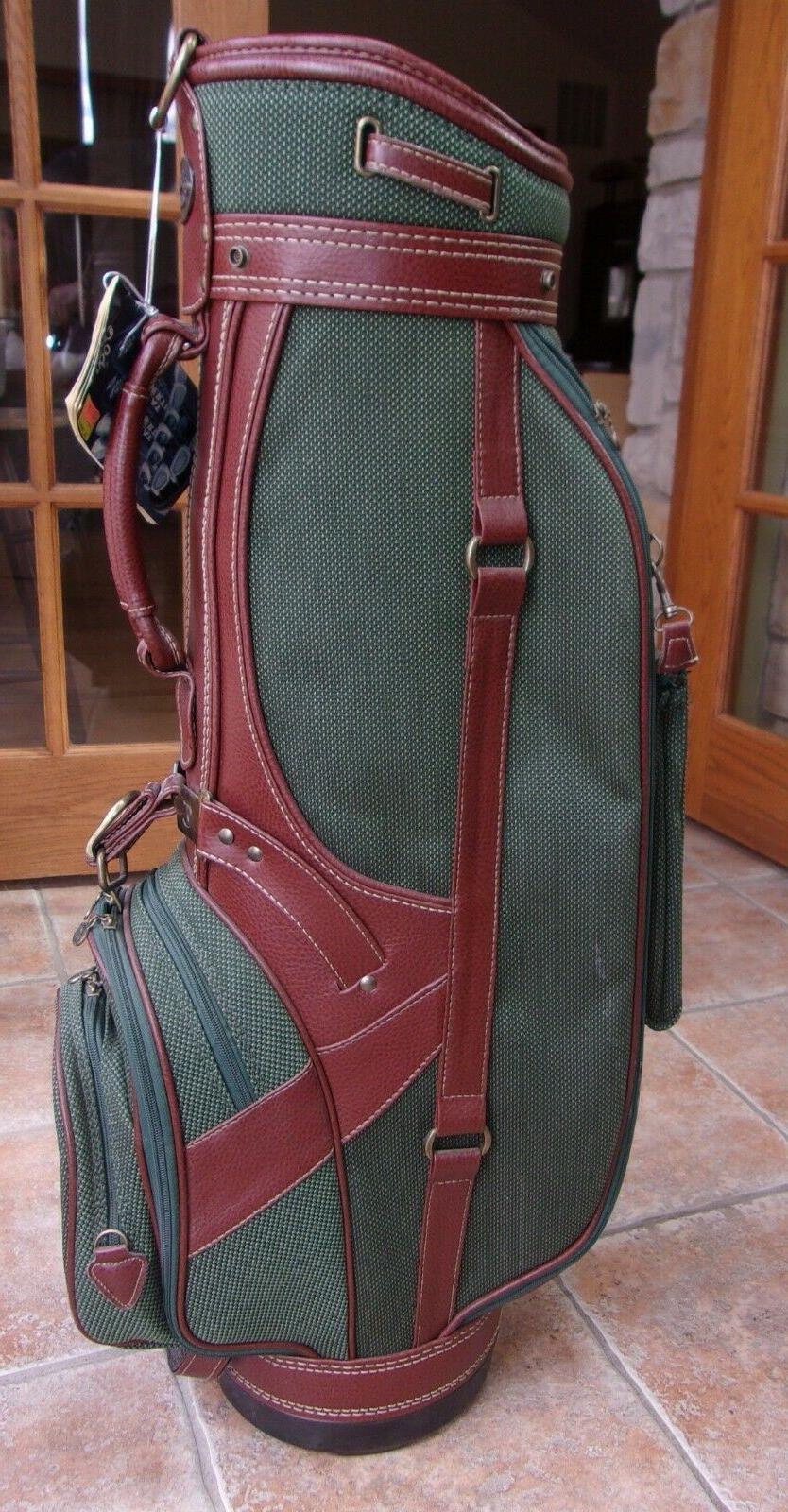 VINTAGE CART GOLF BAG NEW WITH TAGS MISSING SHOULDER STRAP