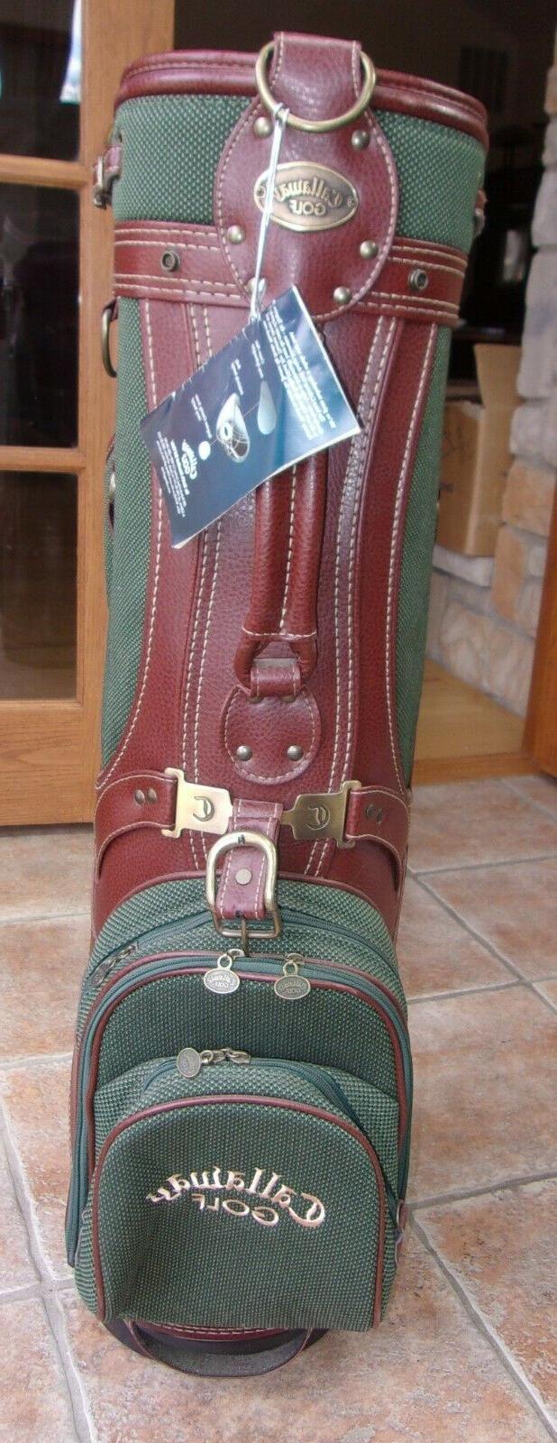 CART BAG WITH MISSING SHOULDER STRAP