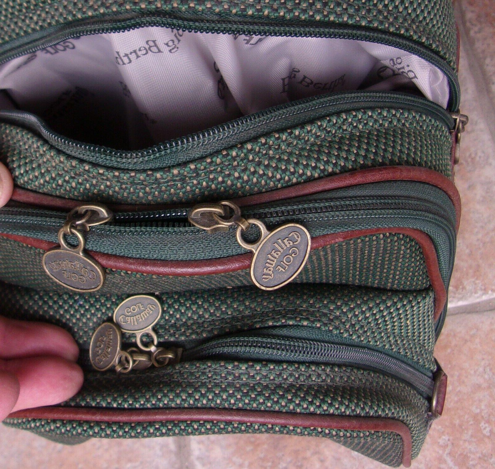 VINTAGE GREEN CART WITH STRAP