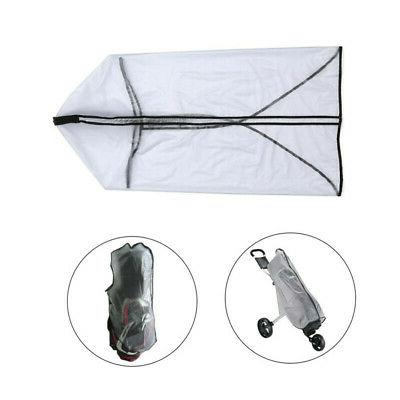 Waterproof Dustproof Golf Bag Hood Rain Cover Shield Golf Bag Useful