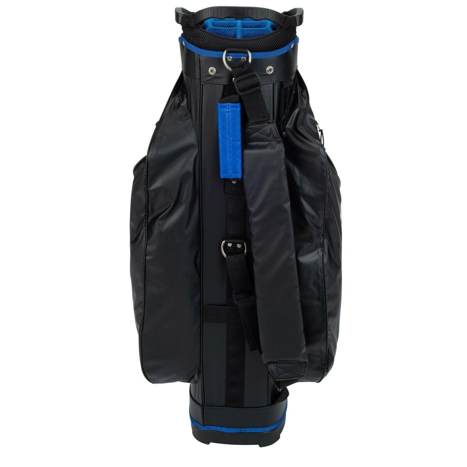 Founders Club Golf Cart Bag Light Weight 14 Divider