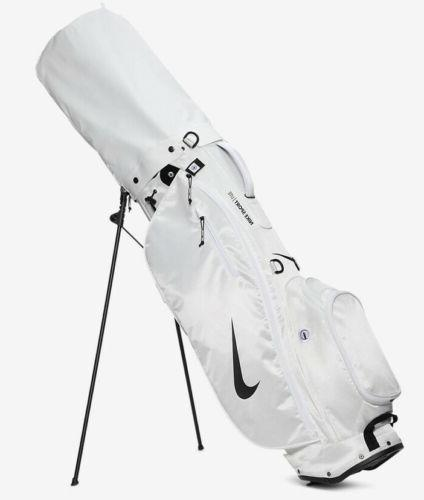 White Nike Sport Lite Golf Bag
