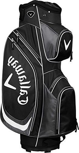x cart golf bag black white one