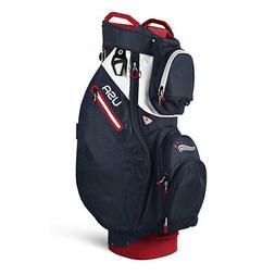 Sun Mountain Ladies Starlet  Cart Bag- Navy / Red / White -C