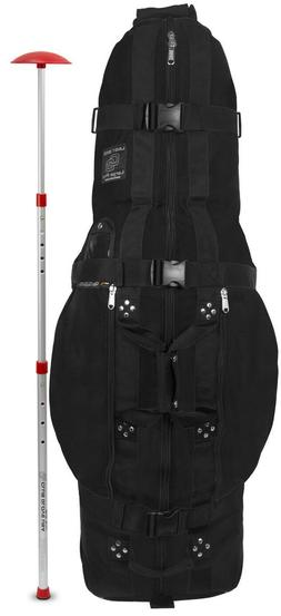 Club Glove Last Bag Travel Golf Bag - LARGE PRO Black