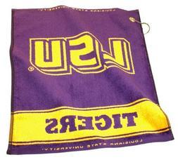 "Louisiana State  Tigers 16"" x 19"" Woven Golf Towel"