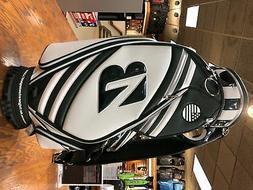 Bridgestone Masters Mini Staff Bag Golf Tour Bag 2019 White/
