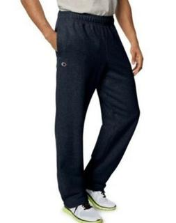 Champion Men's Powerblend Fleece Open Bottom Sweat Pants - 4