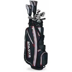 Mens Callaway Strata Complete 12-Piece Golf Club Set with St