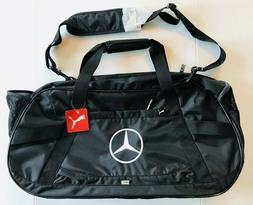 Puma Mercedes Benz Golf Bag Black Duffel Gym Bag Luggage Bla