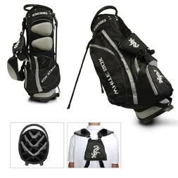 Team Golf MLB Chicago White Sox Fairway Golf Stand Bag, Ligh