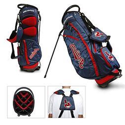Team Golf MLB Cleveland Indians Fairway Golf Stand Bag, Ligh