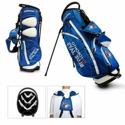 MLB Toronto Blue Jays Fairway Stand Golf Bag, Blue