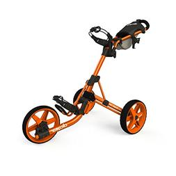 Clicgear Model 3.5+ Golf Push Cart - Orange
