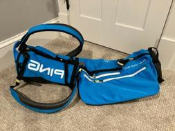 PING Moonlite 2020 Sunday Bag - Bright Blue / Neon - Golf Ba