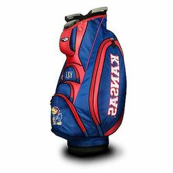 Team Golf NCAA Kansas Victory Golf Cart Bag
