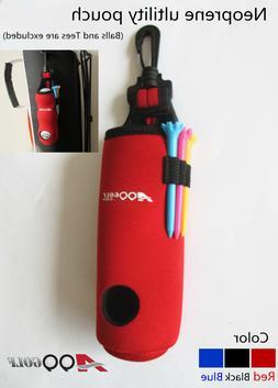 A99 Golf Neoprene Utility Pouch II Golf Balls Holder Tees Ac