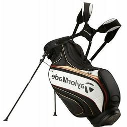 NEW TaylorMade 2016 Tour Stand Bag - Black, White, Gold, Red