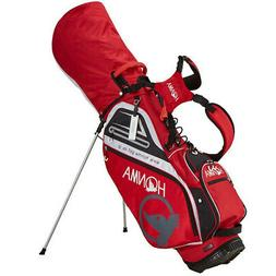 NEW 2018 HONMA CB-1811 STAND BAG RED