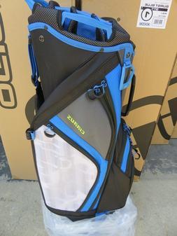 NEW * Ogio 2018 CIRRUS BURST BLUE 16 Way Divider CART Bag