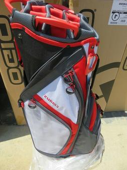 NEW * Ogio 2018 CIRRUS RUSH RED 16 Way Divider CART Bag