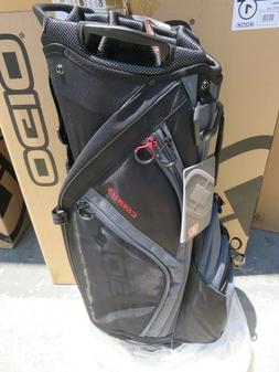 NEW Ogio 2018 CIRRUS SOOT BLACK 16 Way Divider CART Bag