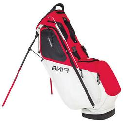 NEW 2018 PING HOOFER 14 STAND BAG SCARLET/WHITE/BLACK
