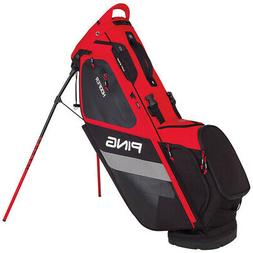 NEW 2018 PING HOOFER STAND BAG SCARLET/BLACK/WHITE