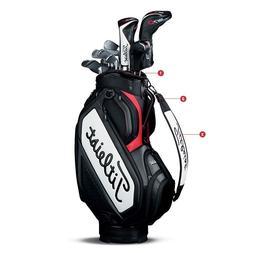 NEW 2018 Titleist Mid Staff Golf Cart Bag TB7SF4-061 Black W