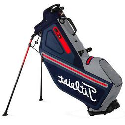 NEW 2018 TITLEIST PLAYERS 4 STADRY STAND BAG NAVY/SLEET/RED