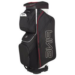 NEW 2019 PING TRAVERSE 191 CART BAG BLACK/WHITE/SCARLET