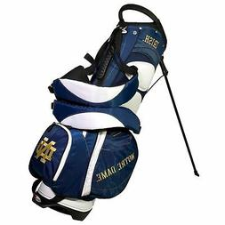 New Authentic Team Golf Notre Dame Golf Bag Stand Bag