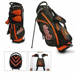 New Team Golf Baltimore Orioles 14 Divider Stand Golf Bag