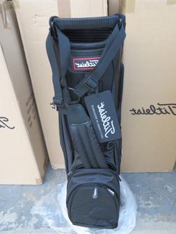 NEW Titleist BLACK Lightweight TB5SS6AC - 0 Bag 4 Way Light