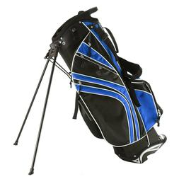 New BlueGolf Stand Cart Bag Club w/6 Way Divider Carry Organ