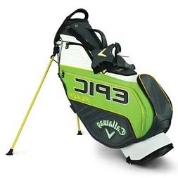 "NEW Callaway Golf Epic Flash Staff Stand / Carry Bag 9.5"" 4-"