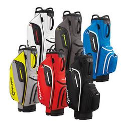 New TaylorMade Cart Lite Golf Bag 14 WAY TOP 10 POCKETS - Pi