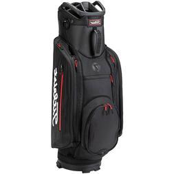 NEW Titleist Club 7 Black/Black/Red Lightweight Cart Bag