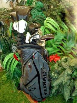 NEW Complete Callaway EDGE 10-Pc Golf Clubs Set 10.5 Regular